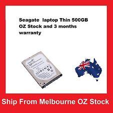 "Seagate Laptop Thin 500GB 2.5"" SATA Internal Hard Drive Notebook HDD 5400RPM"