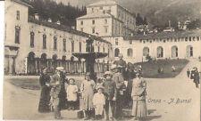 CARTOLINA OROPA BIELLA ANIMATA PERSONE VIAGGIATA NEL 1913 TORINO