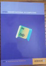 BTEC Higher National in Computing edexcel book