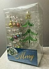 LS Arts Merry Christmas Holiday and Wine Charms New in Original Box