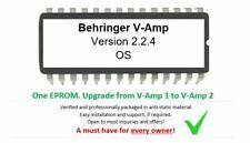 Behringer V-Amp v1 to v2 OS 2.2.4 EPROM Firmware Upgrade KIT for Vamp Guitar FX