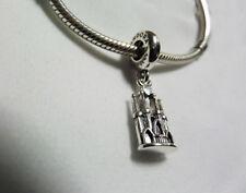 Pandora Silver La Sagrada Familia Dangle Charm + Pandora pouch & gift bag