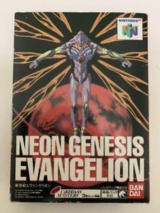 Neon Genesis Evangelion Nintendo 64 N64 Bandai Used Japan Boxed Tested Working