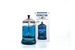 Disinfection Sterilising Jar Glass Barbicide Users Solon Barbers Hospitals600ml
