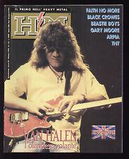 HM HEAVY METAL 133/1992 VAN HALEN TNT ARPIA BLACK CROWES FAITH NO MORE BEASTIE