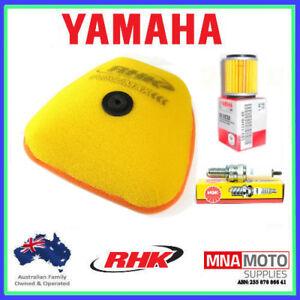 YAMAHA WR250F WR450F SERVICE KIT 2016 - 2018 INC SPARK PLUG / OIL & AIR FILTER
