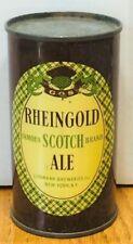 *1940's* Rheingold Scotch Ale Flat Top Beer Can -USBC# 123-24