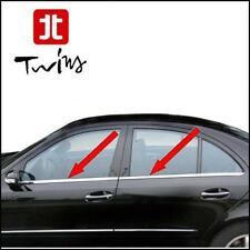 Strisce cromate sotto finestrini Mercedes  Classe E W211 Profili Cromati 03-09