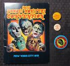 1975 FAMOUS MONSTERS Convention Program Magazine 3 Pin Pinback Button LOT FN-FN