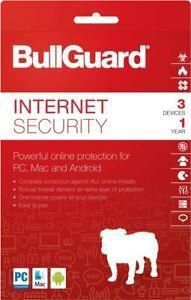BULLGUARD INTERNET SECURITY 2021 3 PC MULTI DEVICE - Download