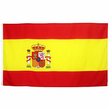 Fahne Spanien Quer 90 x 150 cm spanische Hiss Flagge Nationalflagge WM 2018