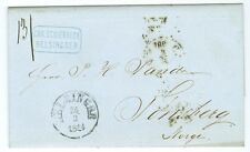 DENMARK: Elsinore, Cover to Tönsberg, Norway 1864