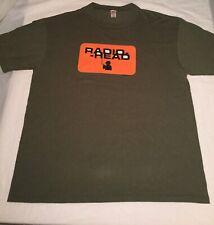 Vintage RADIOHEAD 1996 Concert t-shirt XL green great condition thom yorke