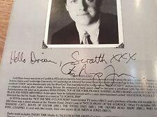 SCRATCH & SNIFF - MEL SMITH & GRIFF RHYLS JONES Signed 1986 Autograph Programme