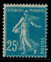 France timbre type Semeuse fond plein N° 140 Neuf ** MNH