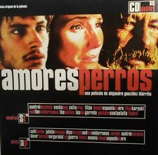 Amores Perros [Original Soundtrack] by Gustavo Santaolalla 2 cd set