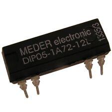 Meder DIP05-1A72-12L Relais 5V 1xEIN 500 Ohm DIP Reed Relay ohne Diode 086987