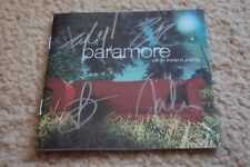 SIGNED Paramore ALL WE KNOW IS FALLING CD Booklet