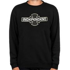 Independent Camiones Co' Skate Cuello Redondo OGBC - Sudadera - X. Large - Negro