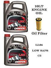 10LT pienamente SYN 5 W / 30 LUNGA VITA Olio & FILTRO PER BMW 118D 120D 318D 320D 745d X3