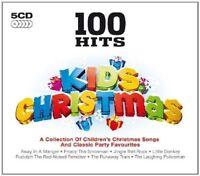 100 HITS KIDS CHRISTMAS 5 CD (Dean Martin, Perry Como, Nat King Cole) NEU