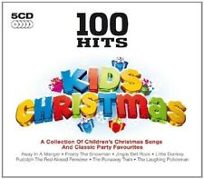 100 HITS KIDS CHRISTMAS 5 CD (Dean Martin, Perry Como, Nat King Cole) NEU