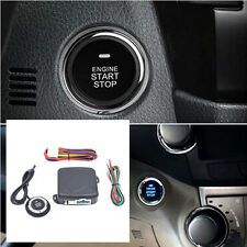 4pc Universal DC12V Car Alarm with Finger Engine Start Push Button Start Stop