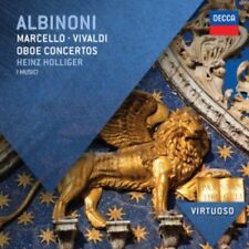 1-CD ALBINONI - OBOE CONCERTOS - HEINZ HOLLIGER (CONDITION: NEW)