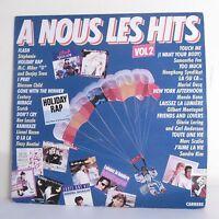"""33T A NOUS LES HITS Vol 2 Vinyle LP 12"""" STEPHANIE CHILD LASZLO KASAN KONTINI FOX"""