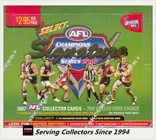 2007 Select AFL Champions Trading Card Factory Box (36 packs)