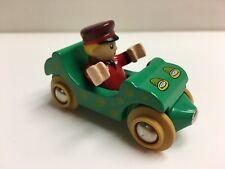 New 2001 Brio Boy Figure & Car Wooden Thomas Train