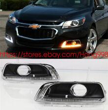 Direct Fit Chevrolet Malibu 2013-2015 High Power LED DRL Daytime Running Lights