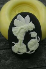 Little Fairy cameo silicone push mold mould  resin sugar craft