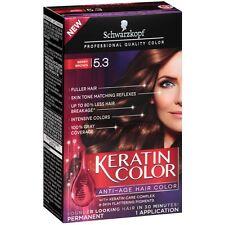 Schwarzkopf Keratin Color Anti-Age Hair Color, Berry Brown [5.3] 1 ea