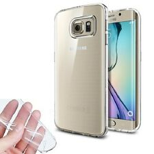FUNDA GEL FINA ULTRA SLIM 0,3mm TRANSPARENTE PARA SAMSUNG GALAXY S6 EDGE G925