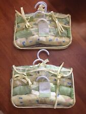LAURA ASHLEY Mother & Child 4 Piece Fabric Clothing Hangers NEW Doll Baby
