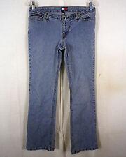 vtg 90s Tommy Hilfiger ladies Denim Jeans how low can you go light wash 13