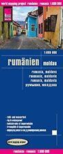 Reise Know-How Landkarte Rumänien, Moldau (1:600.000): w...   Buch   Zustand gut