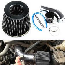 """Car Aluminum Air Intake Set Pipe Diameter 3""""+Cold Air Intake Filter+Clamp+Hose"""