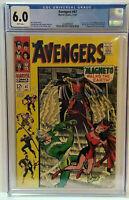 Avengers 47 CGC 6.0  1st Dane Whitman - Black Knight Great looking comic