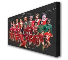 "Liverpool - Anfield Legends - Wall Canvas 25""x16"" (63x40cm)"