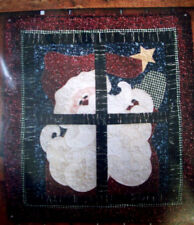 To All A Good Night Santa at Window Christmas fusible applique quilt pattern