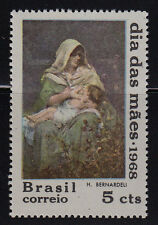 BRAZIL SCOTT# 1068 MNH MOTHERHOOD PAINTING BY HENRIQUE BERNARDELI