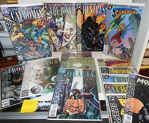 15 DC Comics SHOWCASE 1993-1995 Catwoman Two Face Joker Huntress Thron + more