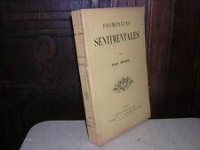 1891.promenades sentimentales.jean thorel.bon ex.nc