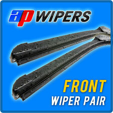 Peugeot 307 Aero RetroFit Windscreen Wiper Blades Pair CAR ID15901