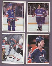 1982-83 O-Pee-Chee OPC Hockey Sticker Dave Lumley #101 Edmonton Oilers