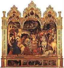 Gentile DA FABRIANO Adoration Of The Magi stampa in A4