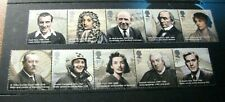 Great Britain Stamp Scott# 2696a,2701a Famous People 2009 MNH  L395