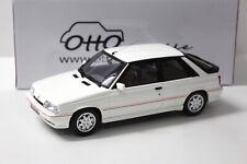 1:18 OTTO Renault 11 Turbo Phase 2 white NEW bei PREMIUM-MODELCARS